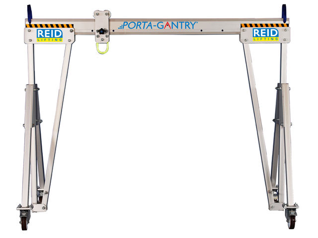 reid aluminium gantry - porta gantry