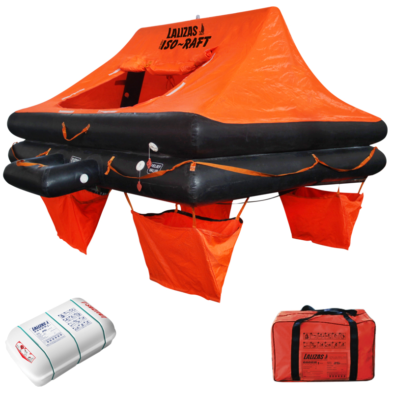 Lalizas Liferaft ISO 9650 – 4 to 12 person » Lifting Gear