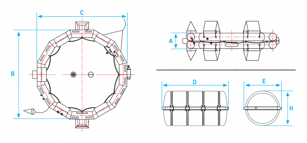 Open reversible drawing